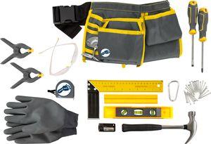 small foot 11798 Werkzeuggürtel Profi XL mit Werkzeug, verstellbar und mit verschiedenem Zubehör, für Kinder ab 8 Jahren