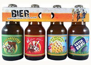 Oster Bier im witzigen Bierschaum Motiv 4er Träger (9,84 EUR / l)