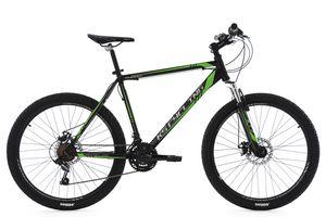 Mountainbike Hardtail 21 Gänge Sharp 26 Zoll (schwarz-grün)