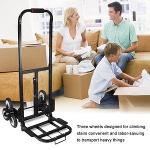 Treppenkarre Sackkarre Treppensackkarre bis 150kg Faltbar 6 Räder Stapelkarre DE