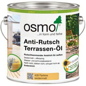 Osmo Anti Rutsch Terrassen Öl farblos für alle Holzterrassen 2500ml