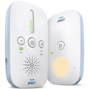 Philips Avent SCD503/26 Audio DECT Babyphone, Weiß/Blau