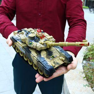 Weihnachten Geschenk für Kinder 54cm 2.4G RC Tankwagen Spielzeug Fernbedienung Panzer Tank