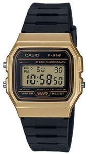 Casio Uhr Digital F-91WM-9AEF Collection Armbanduhr