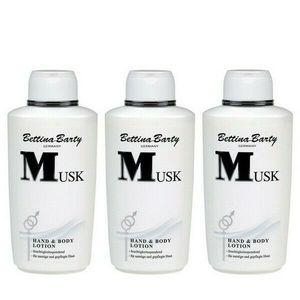 Bettina Barty Musk Hand & Body Lotion 3 x 500 ml