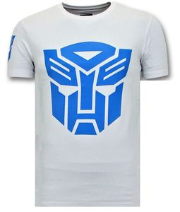 T- Shirt - Transformers Robots - Weiß - S