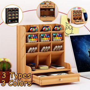 Schreibtisch Organizer Stiftehalter Ablagebox Aufbewahrungsbox Mit Schubladen DE
