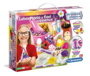 Clementoni Laboratorio di Fiori ed Essenze, Experimentier-Set, Junge/Mädchen