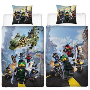 Lego Ninjago Street Bettwäsche Biber / Flanell