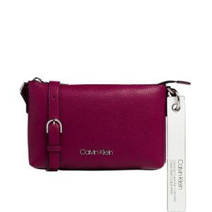 Calvin Klein Umhängetasche Neat Polyurethan 17 x 25 x 3 cm (H/B/T) Damen Crossover