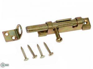 Grendelriegel Türriegel Schubriegel Bolzenriegel 70 x 16 Bolzen 9 mm G. Verzinkt