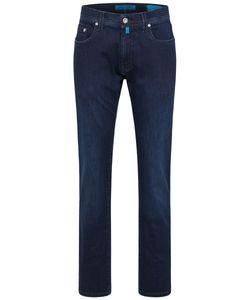 Pierre Cardin Jeans Herren Lyon tapered Größe 35/32, Farbe: 02 BLAU