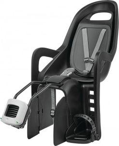 Polisport fahrradsitz hinten Groovy Maxi-Rahmenhalterung schwarz/grau