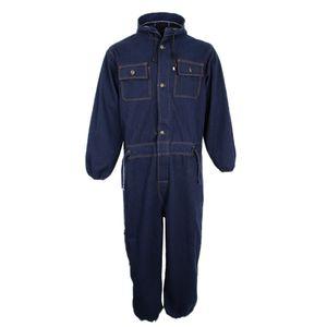 Pocket Jeans Working Schutzausrüstung Arbeitskleidung Anzug Schweißer Jacke Blau 185cm-73ft wie beschrieben