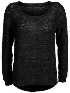 Only Damen Pullover Geena XO 15113356 schwarz, Größe:M