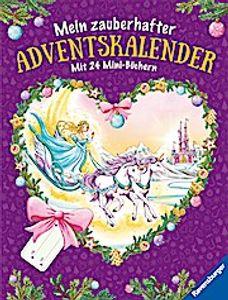 Ravensburger Mein zauberhafter Adventskalender Mit 24 Mini-Büchern