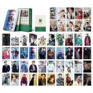 54 Stück/Satz KPOP Lomo Karte 2021 Bangtan Boys Fotokarte Jubeln Foto Postkarten für A.R.M.Y.