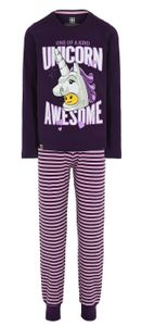 LEGO® Wear Mädchen Schlafanzug Einhorn, Größe:134, Präzise Farbe:Lila