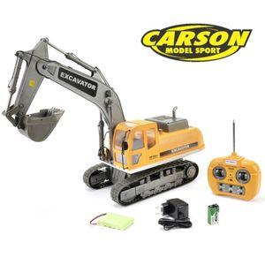 Carson Hobby Engine 1:12 Raupenbagger Caterpillar Excavator 100% RTR 27MHz