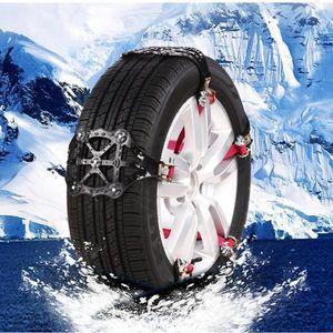 4x Universal Schneeketten Einfach zu montieren Reifen Schneekette Für Alle Reifen