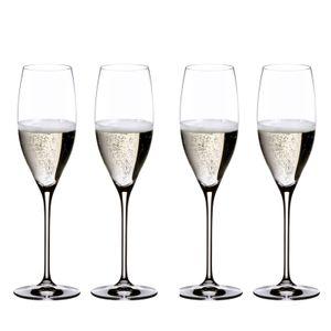 RIEDEL - Vinum Champagne Glas - 4er Set, Farbe:Transparent