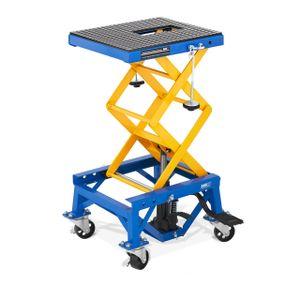 MSW Scherenhebebühne mit Rollen - 150 kg