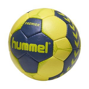 Hummel Premier Handball Ball blau/gelb/grün verschiedene Größen 091790-8676, Ball-Größe:3