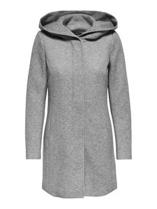Only Damen-Woll-Mantel onlSedona Light Coat Otw 15142911, Größe:S, Farbe:Grau