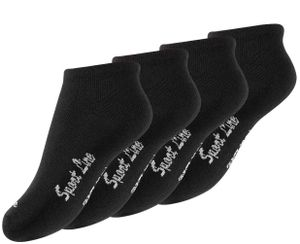 "Yenita® Kinder Sneaker Socken ""Sport Line"" 8 Paar 31-34"