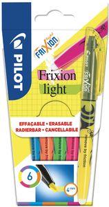 PILOT Textmarker FRIXION light 6er Etui