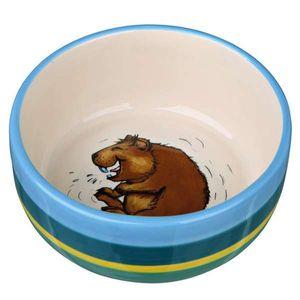 Trixie Keramiknapf, Meerschweinchen 250 ml/ø 11 cm, bunt/creme