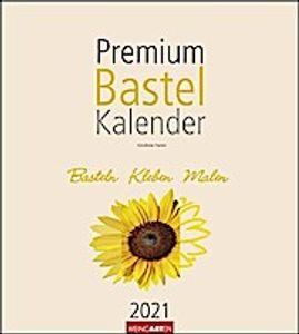 Premium Bastelkalender Champagner 2021 24 x 21,5 cm