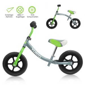 YOLEO Kinder Laufrad Lauflernrad Balance Fahrrad Kinderrad für Jungen und Mädchen ab 2-3 Jahre 360° drehbar Lenker Höhenverstellbar nur 2,88 kg