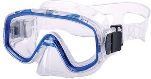 AQUAZON FUN Junior Kids Schnorchelbrille, Taucherbrille, Schwimmbrille, Tauchmaske für Kinder,  von 3-7 Jahren,  sehr robust, tolle Paßform, Farbe:blau transparent