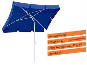 Schneider Sonnenschirm IBIZA 180x120 cm blau 682-09