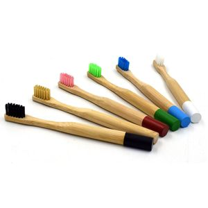 Reine Bambus Natürliche Zahnbürste Umwelt Freundliche Eco Kinder Medium