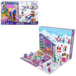 Polly Pocket - Adventskalender mit 25 Überraschungen (insgesamt 34 Spielgegenstände) - Spielfigur - 4 Jahre