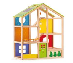Hape Happy Family Vier-Jahreszeiten-Haus (ohne Zubehör), E3400