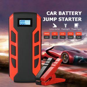 Auto Starthilfe Jump Starter Notstarter Batterie Booster Ladegerät Powerbank 10000 mA Tragbar