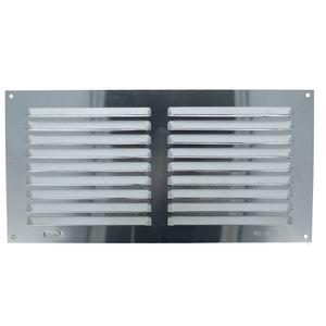 Aluminium Lüftungsgitter mit Netz Lüftungsblech Insektenschutzgitter 150x300mm