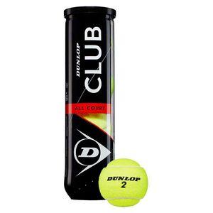 DUNLOP Tennisbälle CLUB ALL COURT - 000 gelb / -