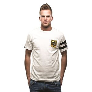 COPA T-Shirt Deutschland Spielführer weiß S