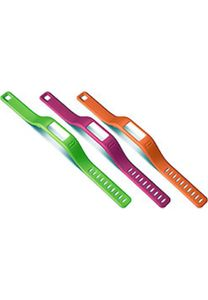 Garmin Ersatzarmbänder orange, pink, grün für vivofit small