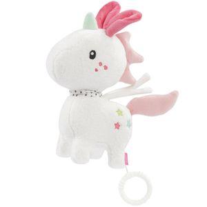 Fehn Aiko & Yuki Spieluhr Einhorn 20 cm weiß