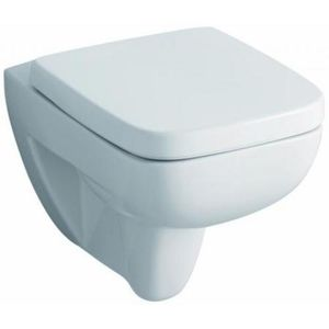 Keramag WC Renova Nr. 1 Plan sspülrandlos 202170000 mit Deckel, C05015000