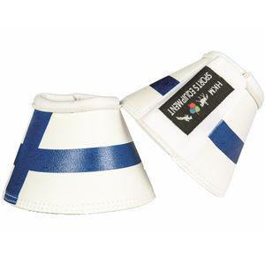 HKM Hufglocken -Flags-, Farbe:7921 Flag Finland, Größe:Vollblut