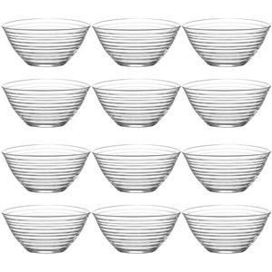 12x LAV Derin Glasschalen Set Dessertschale Knabberschale Müslischalen 300 ml