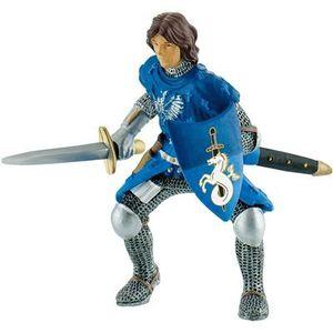 Bullyland 80784 - Figurine World, Ritter, Prinz mit Schwert blau 4007176807842