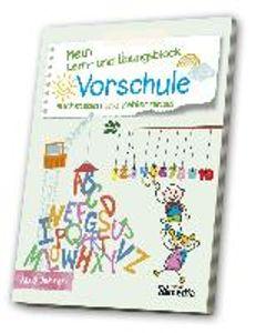 Mein Lern- & ÜbungsblockVorschule: Buchstaben und Zahlenrätsel