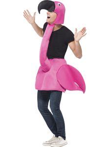 Unisex Kostüm Pink Flamingo Karneval Fasching Party